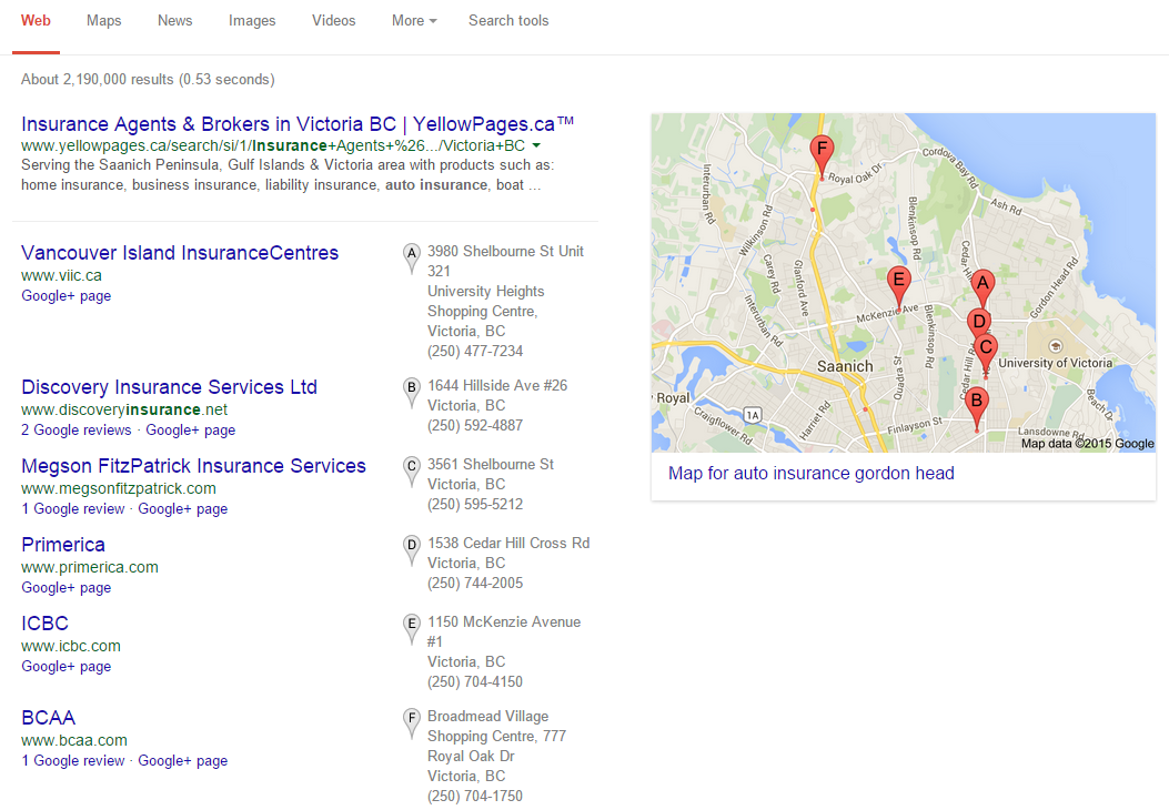 Google Local Shakeup 3 Pack Only 7 Pack