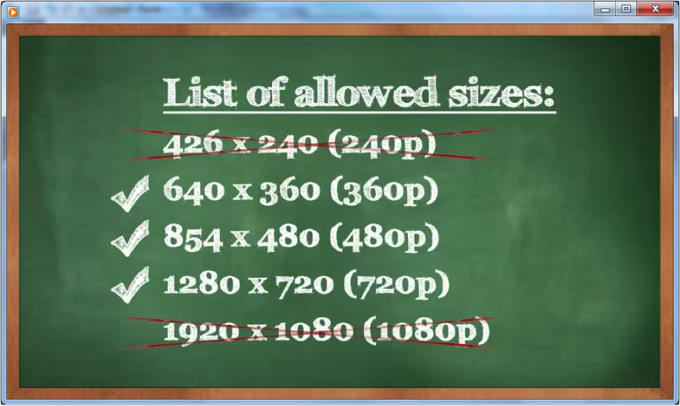 How To Upload Videos To YouTube for the Right sizes – Step